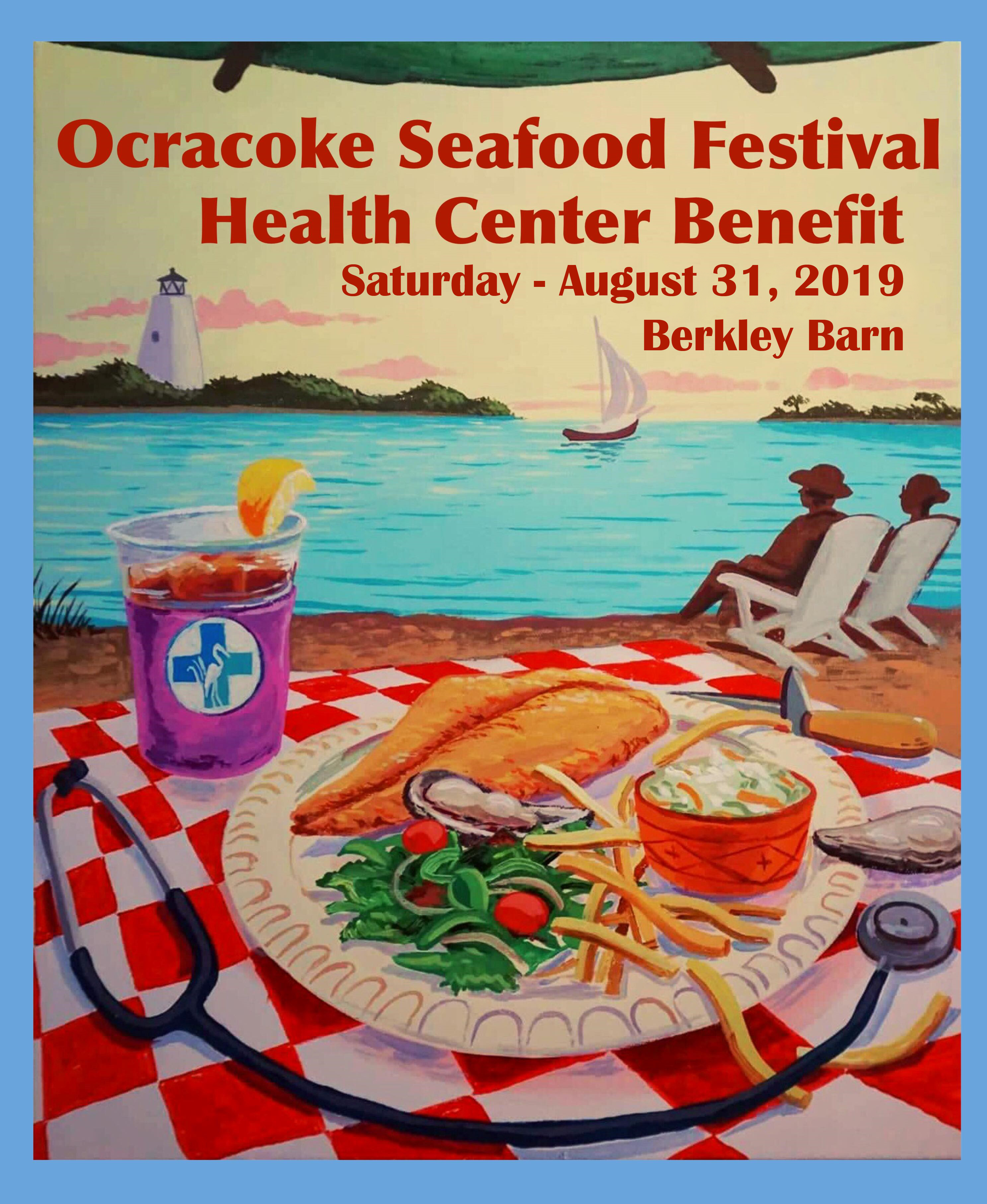 Ocracoke Seafood Festival Poster